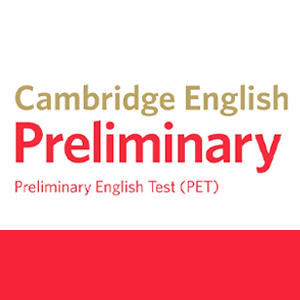 Examen Cambridge PET estudiar online